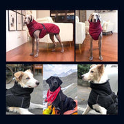 Large Dog Waterproof Warm Winter Jacket-dog coat-Baxter & Bella