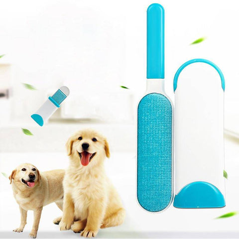Pet Hair Remover Brush - 3 pcs Reusable Electrostatic Brush-pet hair removal brush-Baxter & Bella