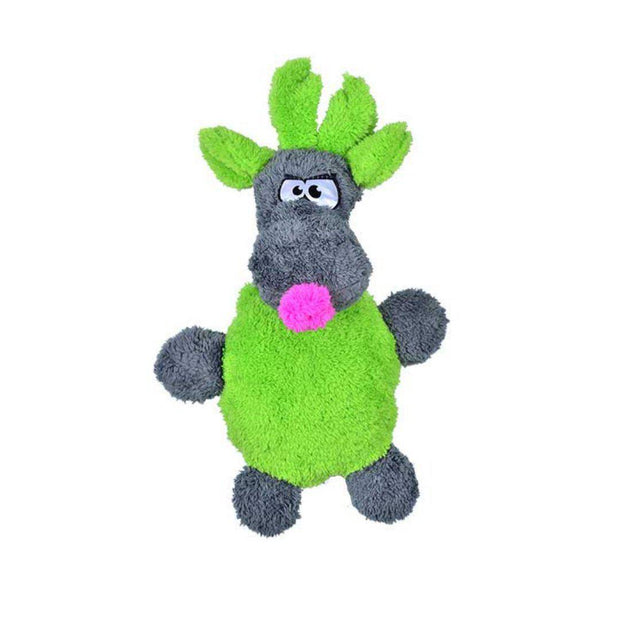 Duraplush Holiday Reindeer Dog Toy-dog toy-Baxter & Bella