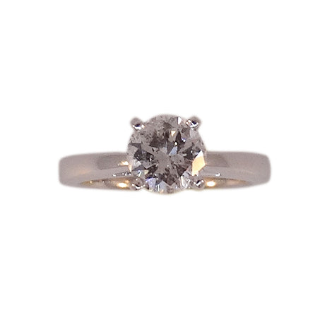1.25ct diamond solitare engagment ring