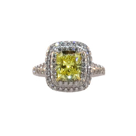 TIFFANY SOLESTE® yellow diamond ring