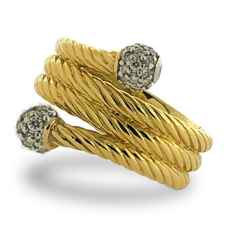 David Yurman Coll. Bypass Ring