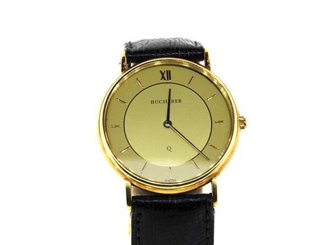 18KT Men Vintage Bucherer Watch
