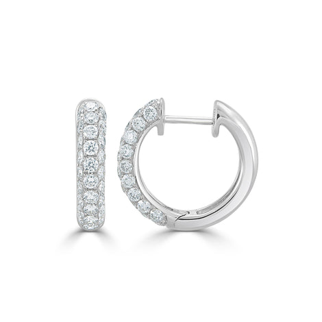 Pavé Diamond Earrings