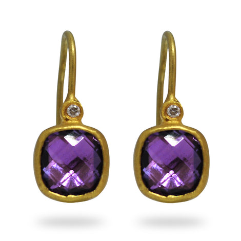 Kurtulan Amethyst Earrings