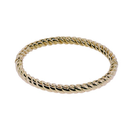 14KT Y/G Rope Bangle Bracelet