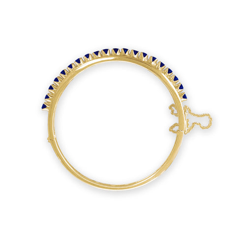Gold and Sapphires Bracelet