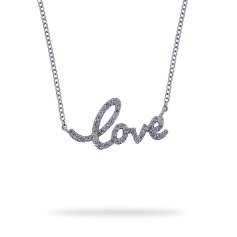 Diamonds Love Necklace