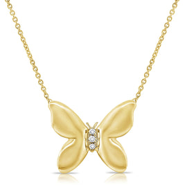 Sabrina Butterfly Necklace