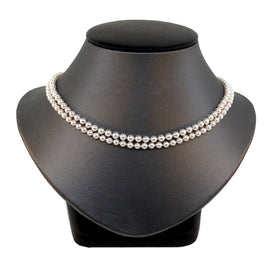 Akoya Double Strand Pearl Necklace