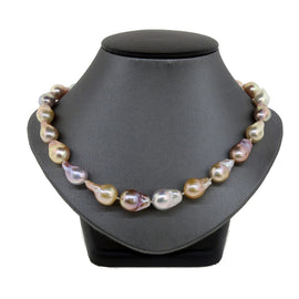 Multicolor Freshwater Baroque Pearl Necklace