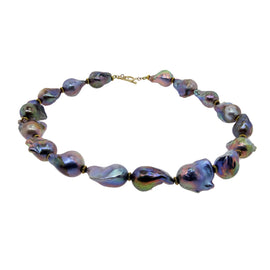 Freshwater Multi-Colored Baroque Pearls
