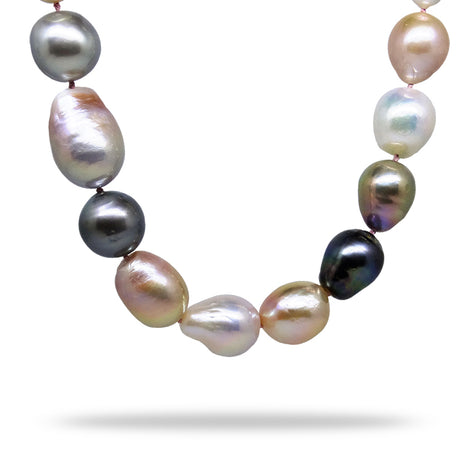 Summertime Multi-Colored Pearl Strand