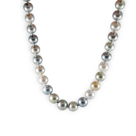 Tahitian Multicolored Pearl Necklace