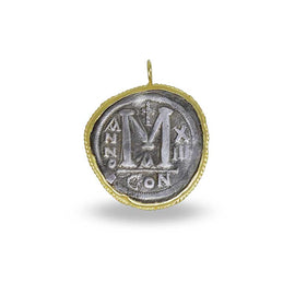 Kurtulan Gold and Silver Coin Pendant