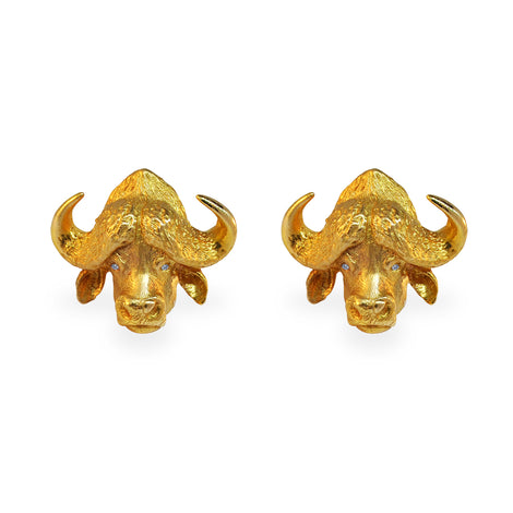Cape Buffalo Cufflinks