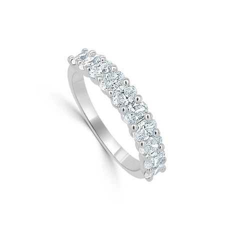 Oval Stone Diamond Ring