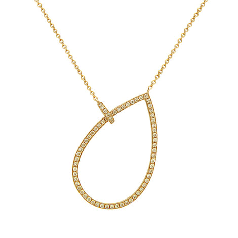 Bassali Yellow Gold and Diamond Necklace