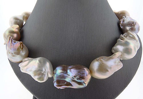 Multi-Colored Freshwater Baroque Pearls