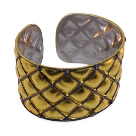 New Kurtulan Gold Cushion Pattern Cuff