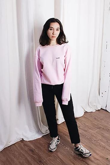 7ob Paris | Love sweat-shirt | Pink Pull over 7ob Paris