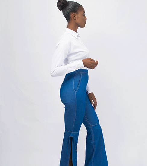 Yhebe Design | Pantalon denim | Yhebe Signature Pantalon Yhébe Design