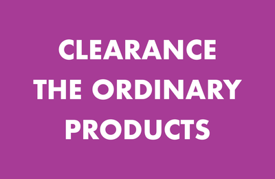 Clearance on The Ordinary Products