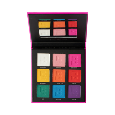 Bright Matte 9 Colour Palette