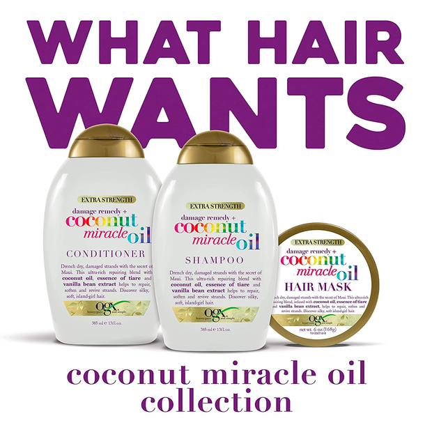 Extra Strength Damage Remedy Coconut Miracle Oil Hair Mask