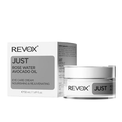 JUST Rose Water Avocado Oil Eye Care Cream