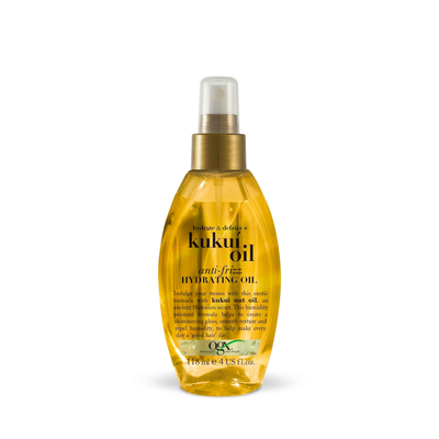 Kukui Oil Anti-Frizz Hydrating Oil