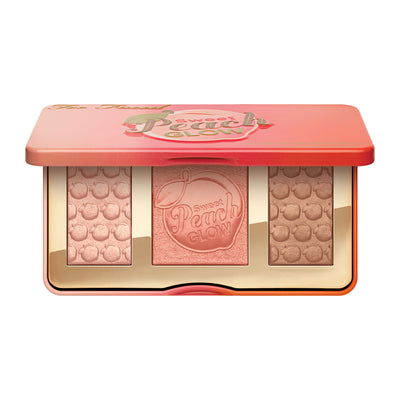 Sweet Peach Glow Peach-Infused Highlighting Palette