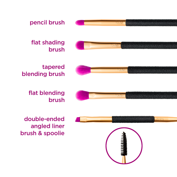 Toast the Good Life Eye Brush Set