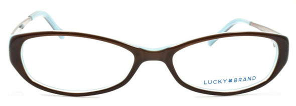 LUCKY BRAND Beach Trip Women's Eyeglasses Frames SMALL 49-15-135 Brown + CASE