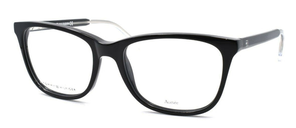 TOMMY HILFIGER TH 1234 Y6C Women's Eyeglasses 52-17-140 Black / Crystal + CASE