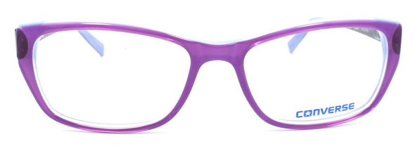 CONVERSE Q020 UF Women's Eyeglasses Frames 51-15-135 Purple + CASE