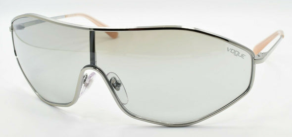 Vogue x Gigi Hadid VO4137S 323/6V Women's Sunglasses Shield Silver / Mirror