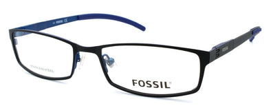 Fossil Felix 0JYM Men's Eyeglasses Frames 54-17-140 Black / Blue