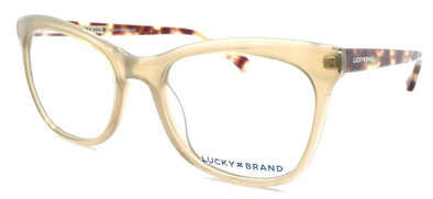 LUCKY BRAND D203 Women's Eyeglasses Frames Cat Eye 53-20-140 Brown + CASE