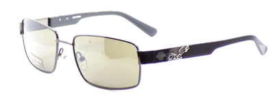 Harley Davidson HDX841 GUN-3F Men's Sunglasses Gunmetal 58-17-135 Gray + CASE