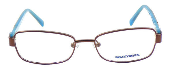 SKECHERS SE2116 049 Women's Eyeglasses Frames 50-16-135 Satin Brown + CASE