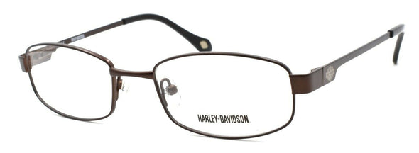 Harley Davidson HDT115 BRN Eyeglasses Frames SMALL 49-18-130 Brown + CASE