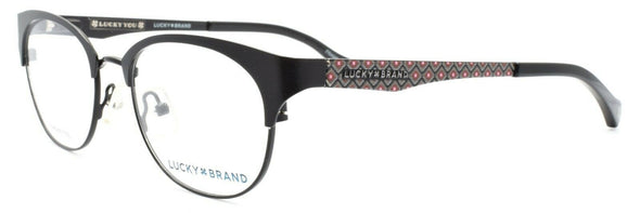 LUCKY BRAND D103 Women's Eyeglasses Frames 50-18-135 Black + CASE