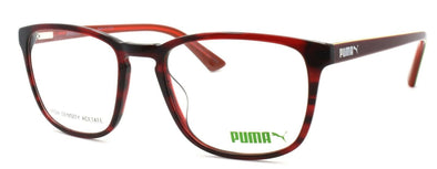 PUMA PU0077O 003 Women's Eyeglasses Frames 53-19-140 Havana Red + CASE