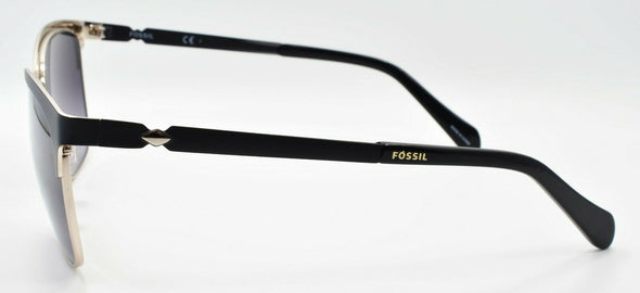 Fossil 2078/S 0039O Women's Sunglasses 55-15-140 Matte Black / Black Gradient