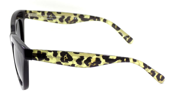 TOMMY HILFIGER TH1480/O/S FP39O Women's Sunglasses Cat Eye Black / Gold Leopard