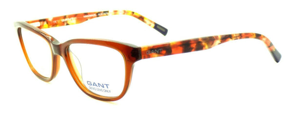 GANT GA4057 048 Women's Eyeglasses Frames 51-16-135 Shiny Dark Brown + CASE