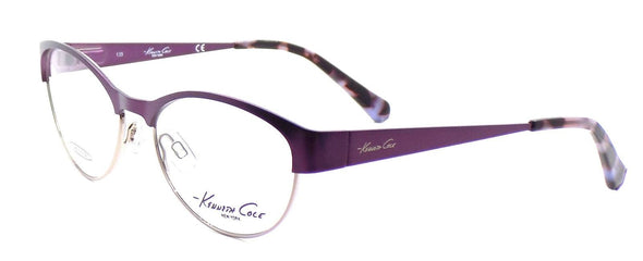 Kenneth Cole NY KC215 082 Women's Eyeglasses Frames 52-16-135 Matte Violet +CASE
