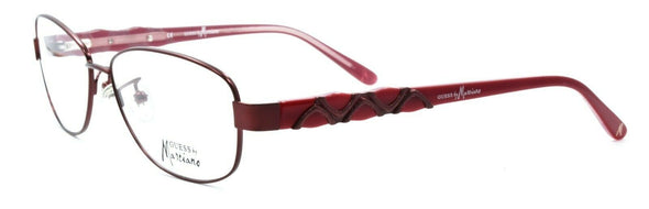 GUESS by Marciano GM155 SMAG Women's Eyeglass Frames 53-15-135 Satin Dark Berry
