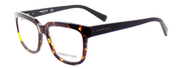 Kenneth Cole NY KC0256 52A Men's Eyeglasses w/ Clip-ons Dark Havana / Smoke